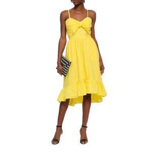NWT Joie knotted cutout poplin dress SIZE 4